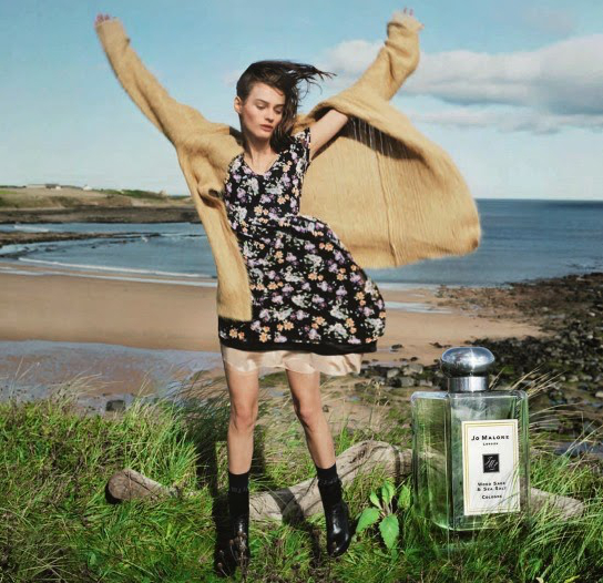 Jo Malone Channels The English Coast For New Wood Sage & Sea Salt Cologne