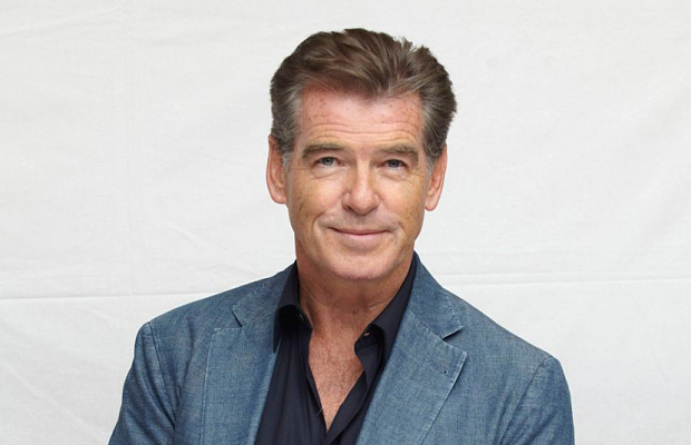 Pierce Brosnan Prefers  Green Irish Tweed