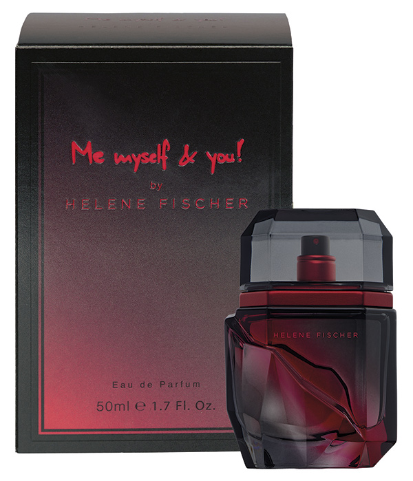 Presenting Helene Fischer's Me Myself And You! Fragrance