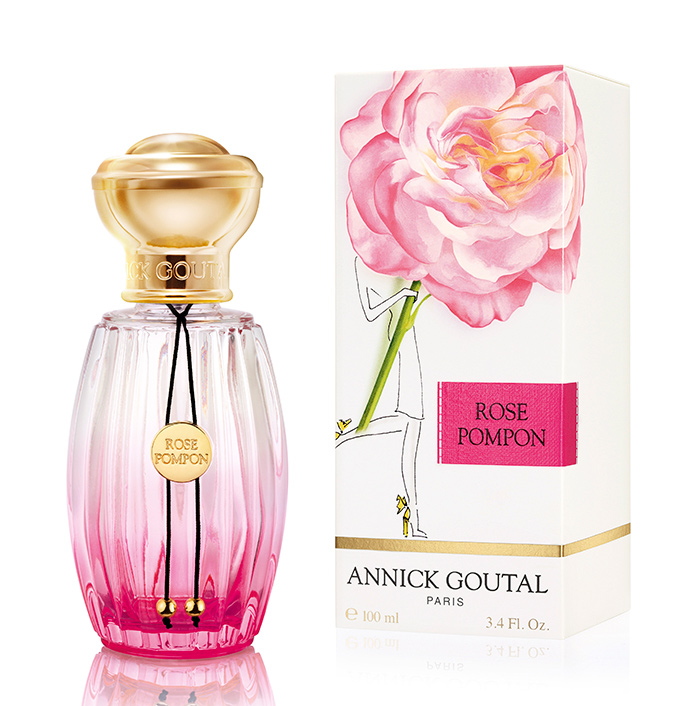 Annick Goutal's New Rose Pompon Perfume