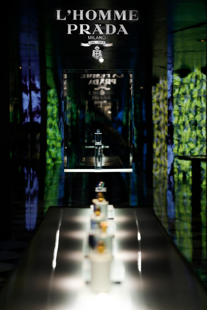 Prada Previewed New Fragrances At Fashion Show In Milan