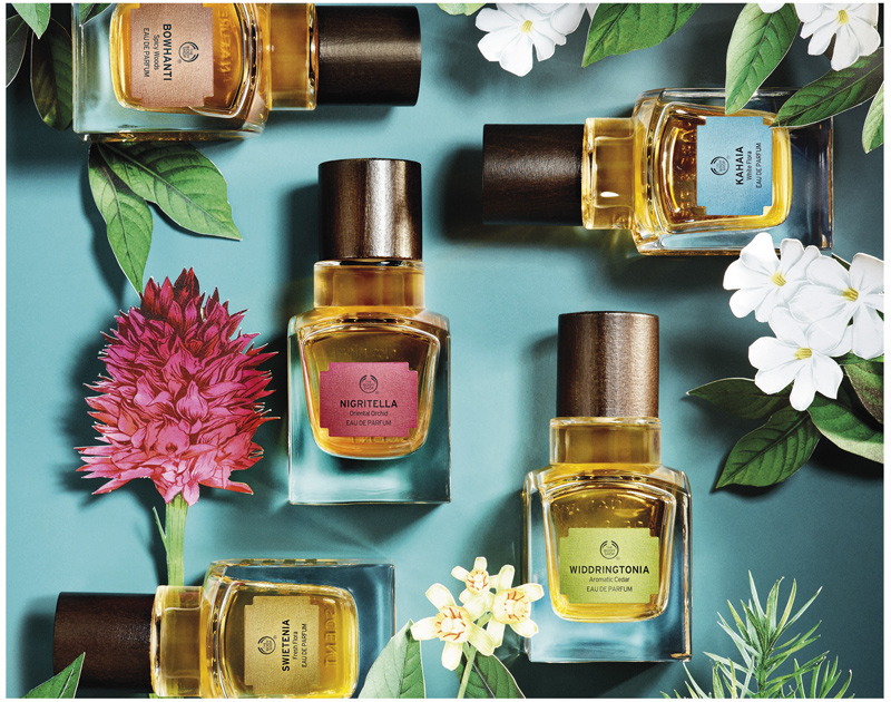 The Body Shop Launches 'Elixirs Of Nature' Fragrances