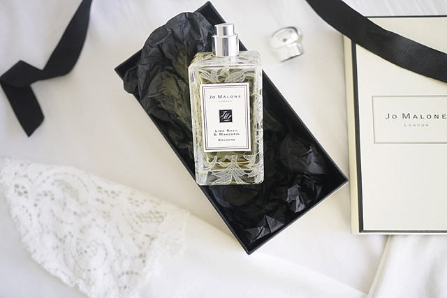 5 soothing fragrances from Jo Malone's New London Bridal Lace Collection!