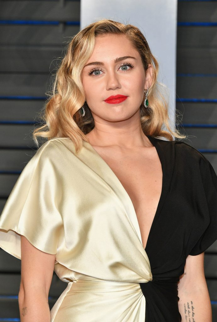 Miley Cyrus likes  Miss Dior Cherie