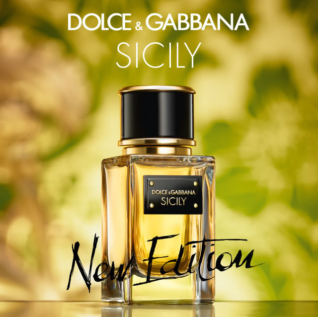 The perfume of passion- Sicily by Dolce&Gabbana
