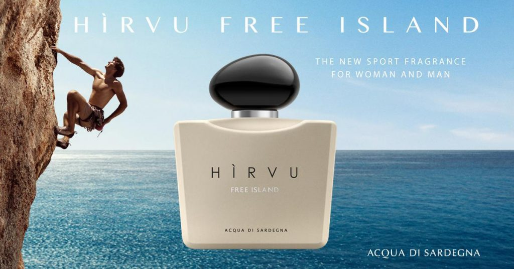 The Thrill Of Freedom with Hirvu Free Island by Acqua Di Sardegna