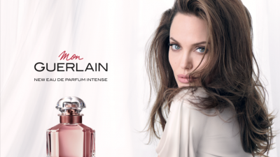 Mon Guerlain Intense Campaign Features Angelina Jolie