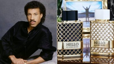 Lionel Richie Launches New Fragrance Line