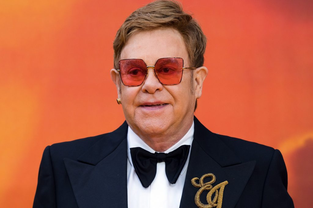 Elton John Loves Royal Water