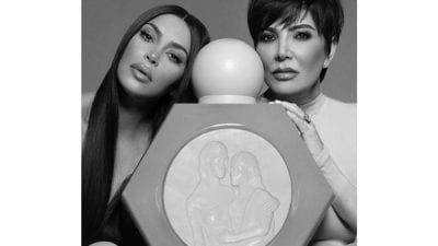 Kris Jenner and Kim Kardashian Collaborate for Mother's Day